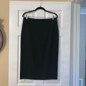 NY&C Black Midi Pencil Skirt